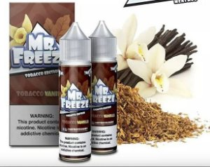 Líquido MR. Freeze Menthol - Tobacco Vanilla