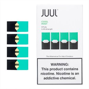PODs (cartucho) c/ Líquidos Cool Mint  JUUL