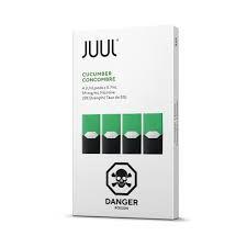 PODs (cartucho) c/ Líquidos Cucumber  JUUL