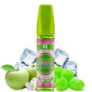 Líquido Dinner Lady - Premium Quality - Apple Sours ICE