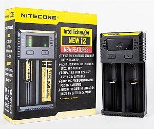 Carregador de Baterias - New i2 - Nitecore