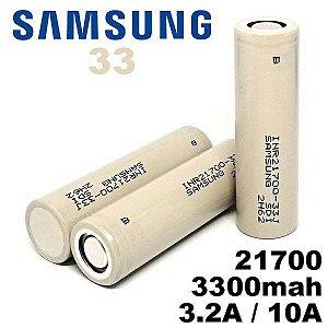Bateria Samsung INR 21700 33J 3300 mAh