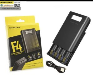 Carregador F4 Power Bank Nitecore®