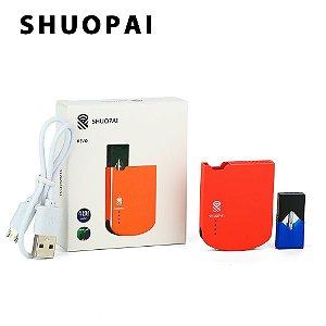 Kit Ultra Portátil 400mAh Ultra Portátil Compativeis com Pod juul Shuopai Revo