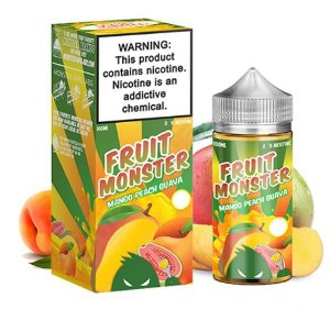 LÍQUIDO MANGO PEACH GUAVA - FRUIT MONSTER - JAM MONSTER