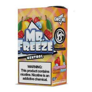 LÍQUIDO STRAWBERRY MANGO FROST - MR. FREEZE MENTHOL