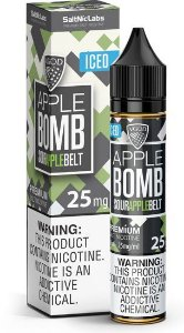 LÍQUIDO SOUR APPLE BOMB BELT ICED - SALTNIC / SALT NICOTINE - VGOD