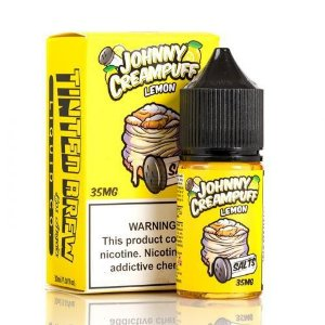 LÍQUIDO LEMON SALTS - JOHNNY CREAMPUFF