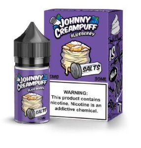 LÍQUIDO BLUEBERRY SALTS - JOHNNY CREAMPUFF