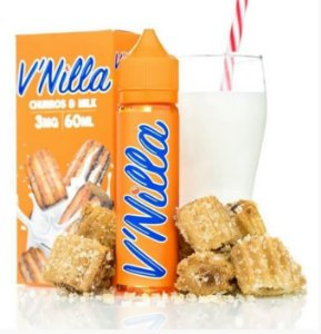 LÍQUIDO V'NILLA CHURROS & MILK - TINTED BREW LIQUID CO.