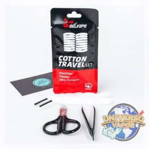 ALGODÃO COTTON TRAVEL SET - HELLVAPE