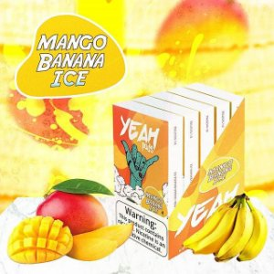 PODs (cartucho) c/ Líquidos P/  JUUL Mango Banana Ice YEAH