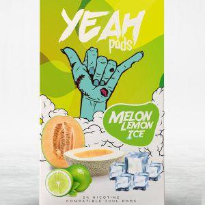 PODs (cartucho) c/ Líquidos P/  JUUL Melon Lemon Ice YEAH