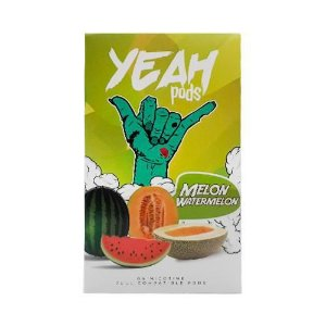 PODs (cartucho) c/ Líquidos P/  JUUL Melon watermelon YEAH