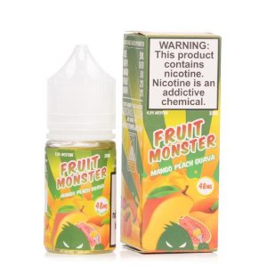 LÍQUIDO NICSALT MANGO PEACH GUAVA - FRUIT MONSTER