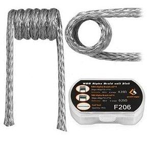 PREBUILT MTL N80 ALPHA BRAID F206 COIL 2 IN 1 - GEEK VAPE