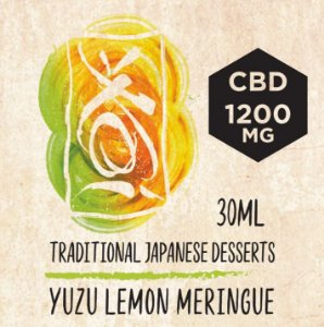 LÍQUIDO CBD YUZU LEMON MERINGUE - TRADITIONAL JAPANESE DESSERTS - ELEMENT