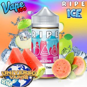 LÍQUIDO RIPE COLLECTION FIJI MELONS ICE - RIPE VAPE 100