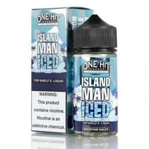 LIQUIDO ISLAND MAN ICED - NICSALT - ONE HIT WONDER E-LIQUID