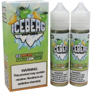 LIQUIDO ICE MELON GREEN APPLE LOW MINT - ICEBERG VAPORS