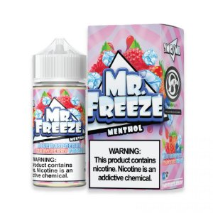 LÍQUIDO BLUE RASPBERRY STRAWBERRY FROST - MR. FREEZE