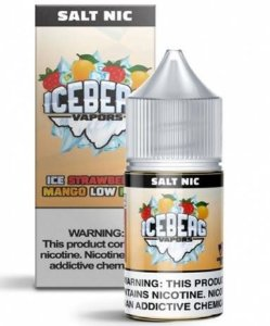 LÍQUIDO SALT ICE STRAWBERRY MANGO LOW MINT - ICEBERG VAPORS