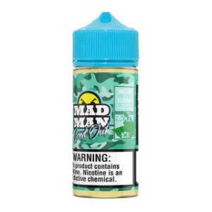 LIQUIDO CRAZY SPEARMINT ICED OUT - MAD MAN