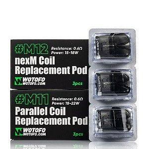POD ( REPOSIÇÃO ) M11 PARALLEL COIL / M12 NEXM COIL - WOTOFO