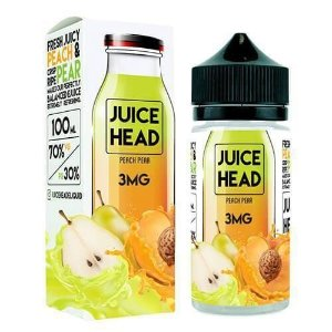LÍQUIDO PEACH PEAR - JUICE HEAD