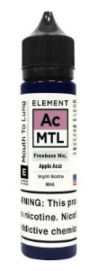 LÍQUIDO APPLE AÇAI MTL - ELEMENT
