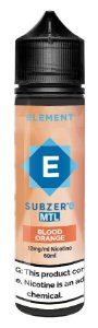 LÍQUIDO ELEMENT SUBZERO MTL BLOOD ORANGE - ELEMENT