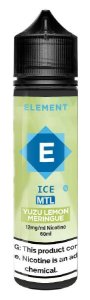 LÍQUIDO ELEMENT ICE MTL YUZU LEMON MERINGUE - ELEMENT