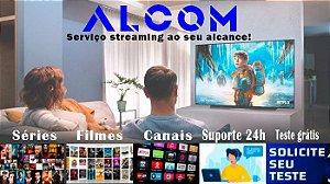 Streaming filmes, séries e canais fechados