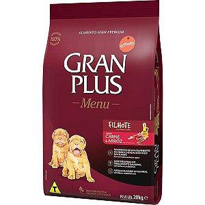 Ração Gran Plus filhotes super premium menu 20kg