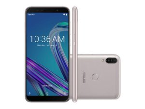 Smartphone Asus Zenfone Max PRO M1 64GB, Android Oreo, Dual chip, Processador Qualcomm Snapdragon 630 1.8 GHz