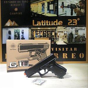 Pistola spring G15 Full Metal - Galaxy