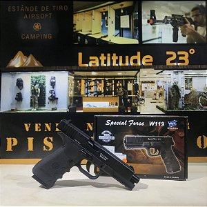 Pistola W119 metal CO2 4,5 mm - Wingun
