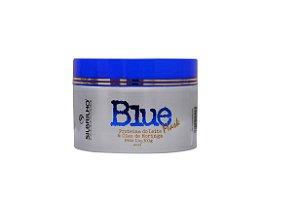 BLUE MASK 300G - Formulada com proteínas do leite, hidrata, elimina a coloração amarelada dos cabelos loiros e com isto, colabora para maior durabilidade da nova cor.