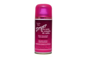 SECANTE DE ESMALTE DE UNHA 150ML - Spray com ação instantânea - Protege as unhas e realça a cor, deixando um brilho intenso