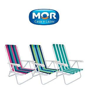 Cadeira Reclinável 4 Posições - Cores