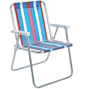 Cadeira Alta Conforto Alumínio - Cores