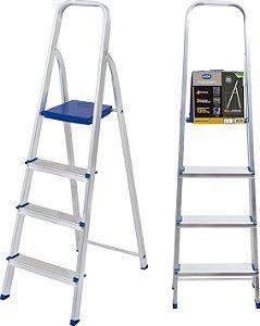 Escada Alumínio 4 Degraus - MOR