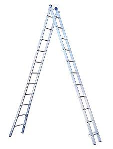 Escada Extensível 2x11 22 Degraus - MOR