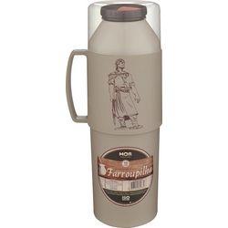 Garrafa Térmica Farroupilha 1 Litro Bege - MOR