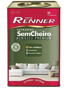 EXTRAVINIL ACRILICO FOSCO 18L 6600 BRANCO - RENNER