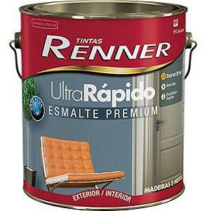 ESMALTE ULTRA RAPIDO BRILHO 3,6L RE2901 BRANCO - RENNER