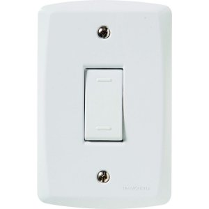 Conjunto 4X2 - 1 interruptor paralelo 10A 250V~ Cód. 57145002 - Tramontina