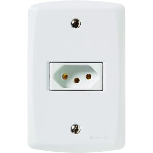 Conjunto 4X2 - 1 tomada USB 1,5A - bivolt Cód. 57145026 - Tramontina