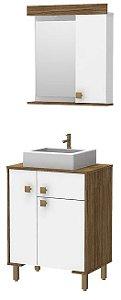 Móvel Para Banheiro 62cm 666RO Salvador Alabama/br