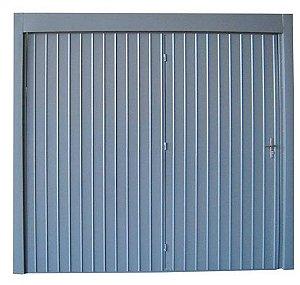Portão de Contrapeso 2,40x2,20m c/porta auxiliar - Tecnoma